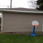 how to frame a garage side door