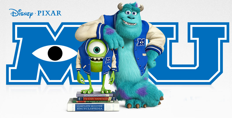 Monster University: activities with kids