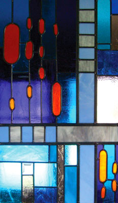 Stained glass windows designed by Miretti Stained Glass