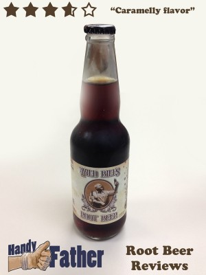 Wild Bill's Root Beer Review. Root Beer Reviews by Handy Father