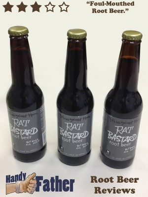 Rat Bastard Root Beer Review
